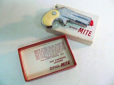 Vintage Toy Diecast Cap Gun - Nichols Dyna-Mite - Derringer Replica - Texas USA