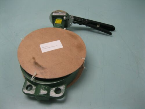 "6"" Crane Center Line Series 200 Wafer Butterfly Valve DI/SS/BUNA NEW E15 (2524)"