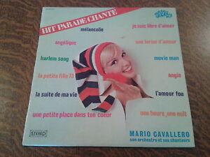 Mario Cavallero Et Son Orchestre Mario Cavallero Son Orchestre Et Ses Chanteurs Hit Parade Chante - Pop Hits - Vol. 29