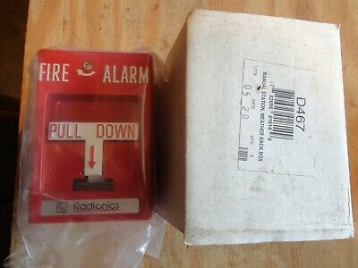 Radionics D467 Fire Alarm Pull Station In Wp Box