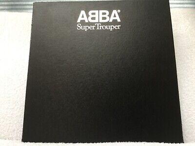 ABBA Super trooper box set with poster