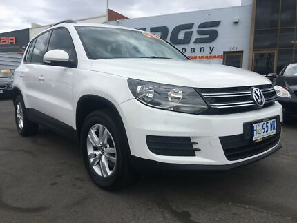 MY2012 Volkswagen Tiguan new shape 6 spd man SUV North Hobart Hobart City Preview