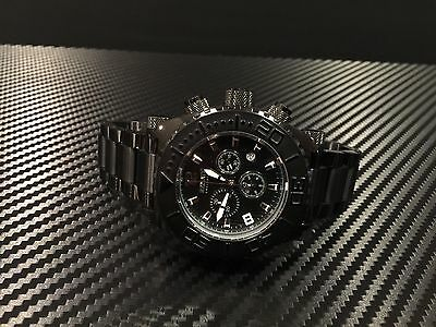 Renato Men's Emporium 50MM Black Chronograph (Men Emporium)