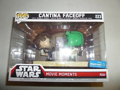 NEW SEALED FUNKO POP! STAR WARS MOVIE MOMENTS CANTINA FACEOFF