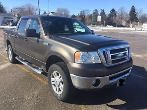 2008 Ford F-150 crew cab 4x4, excellent condition
