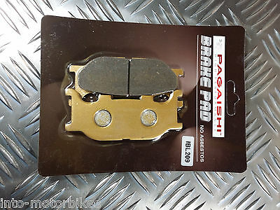 SEMI METAL FRONT BRAKE PADS FOR <em>YAMAHA</em> FZ6 NAKED NON ABS 04 07 F