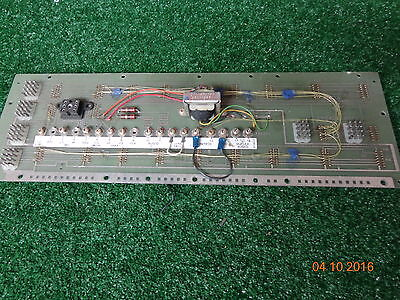 Ge Mastr Ii Master Uhf Vhf Radio Repeater Auxiliary Back Plane Pl19d417214g1 11