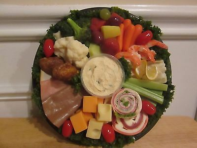 Realistic Life Size Faux Artificial Fake Food: Deli Platter Prop Display