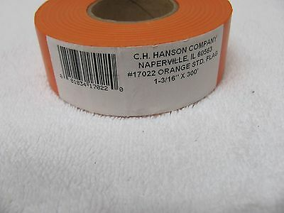 Ch Hanson Orange Flagging Tape