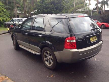 Ford Territory 2004 Dual Fuel (Unleaded/LPG) automatic