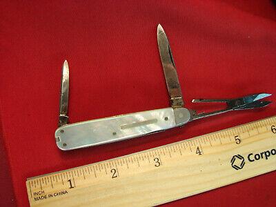 J.A. HENCKELS SOLINGEN GERMANY PEARL VINTAGE OLD KNIFE