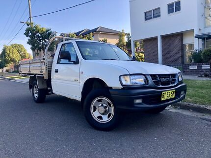 2002 Holden Rodeo LX TFR9 White 5 Speed Manual Ute 9months Rego Liverpool Liverpool Area Preview