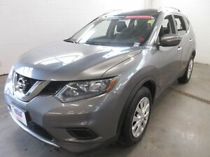 2015 Nissan Rogue S- EXT WARRANTY! BACK-UP CAM! ONLY 52K!