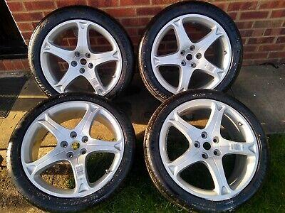 Ferrari California Alloy Wheels & Tyres 19 inch set of 4 excellent condition