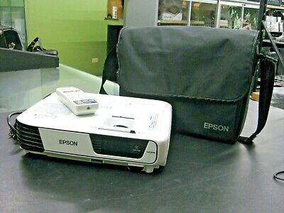 WOW!! Epson EX3240 SVGA 3LCD Projector HDMI with REMOTE - White