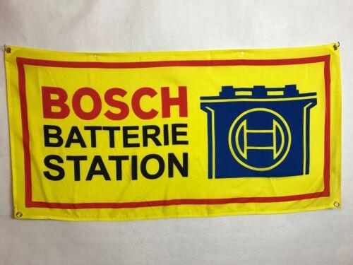 Bosch Flag Banner ~ bmw vw okrasa bug bus split 356 ruf kdf 911 m3 3.0cs Battery