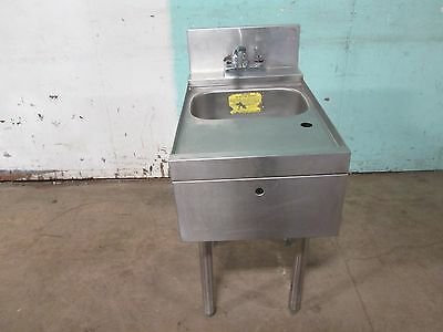 Heavy Duty Commercial Under Counter Modular S.s. Bar Wash Sink W Hc Faucet