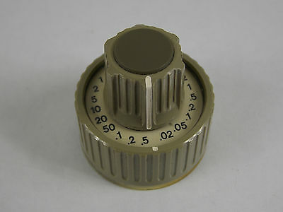 Leader Lbo-516 Oscilloscope Time Div And Delay Time Knob
