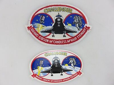 "NASA STS-41-B Space Shuttle Challenger 5.5"" Wide Patch & Sticker Vintage UNUSED"