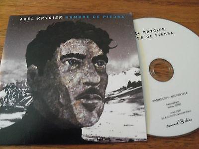 AXEL KRYGIER - Hombre De Piedra. Promo UK 11 track CD 2015