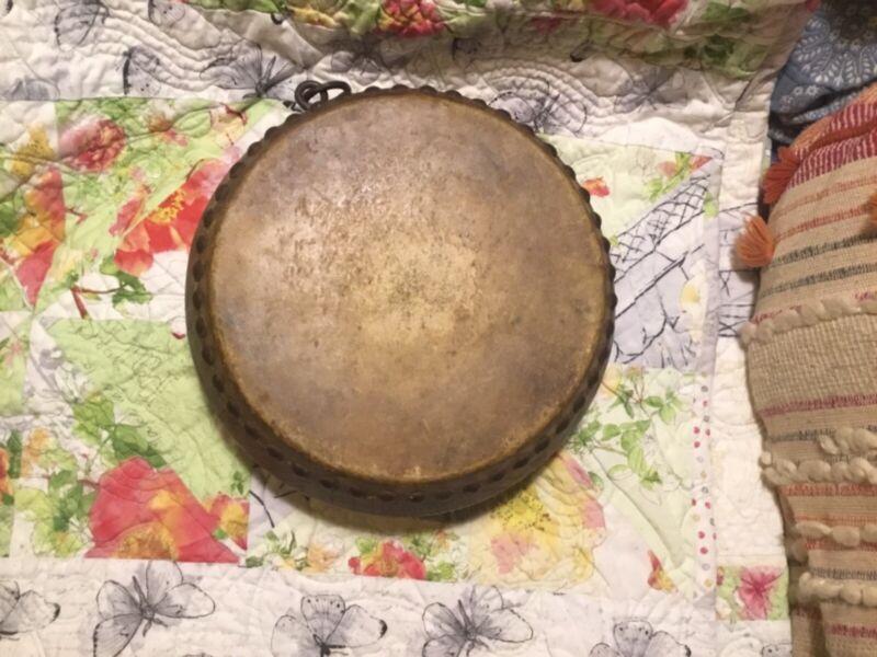 chinese tom tom drum 1920s-30's jazz skin antique vintage ceremonial Buddhist