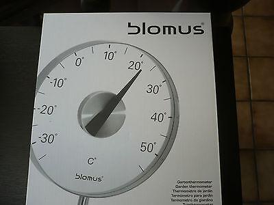 Blomus GRADO Gartenthermometer  65242 Celsius   Neu + OVP Thermometer Edelstahl