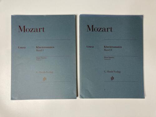 Mozart Piano Sonatas Vol 1 2 Combined Urtext G Henle Verlag / Klaviersonaten  - $48.70