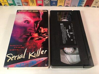* Serial Killer 90's Thriller VHS 1995 Tobin Bell Kim Delaney Gary Hudson
