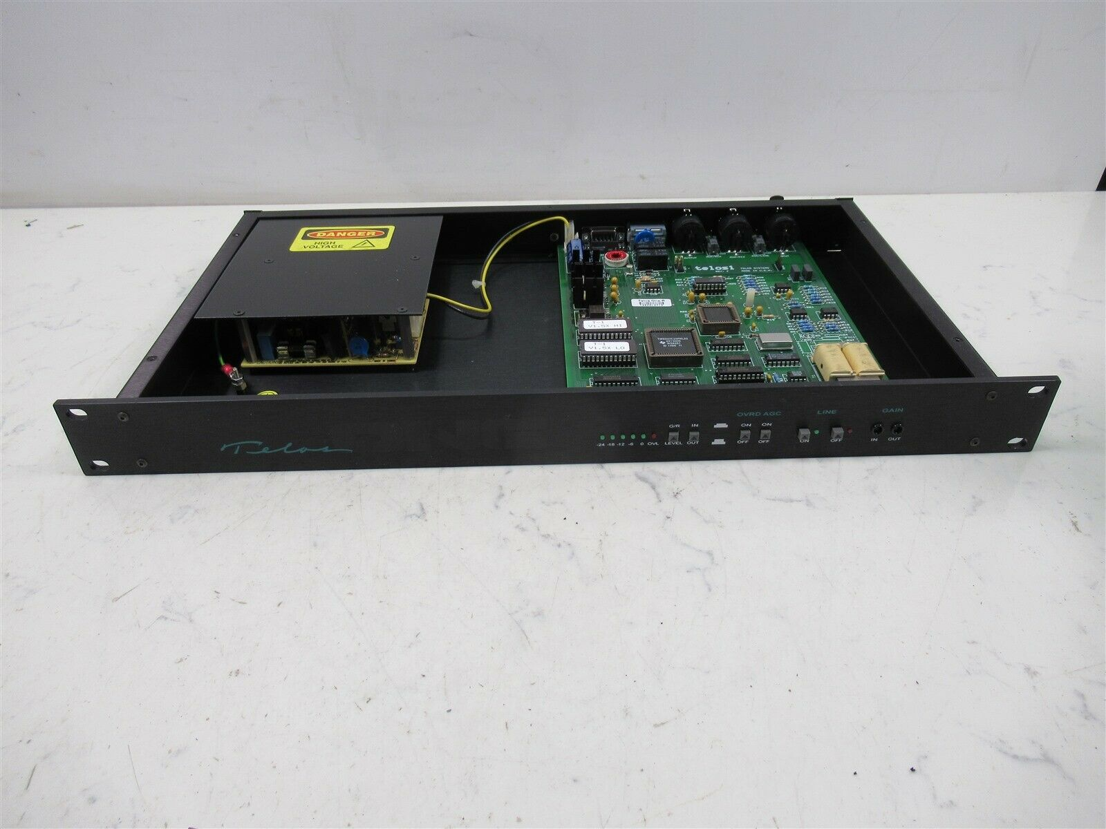 Details about Telos One-R Digital Hybrid Broadcast Telephone Audio  Interface Rack Mount Deck