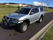 2007 Mitsubishi Triton VR 4WD Doublecab Ute Lithgow Lithgow Area Preview