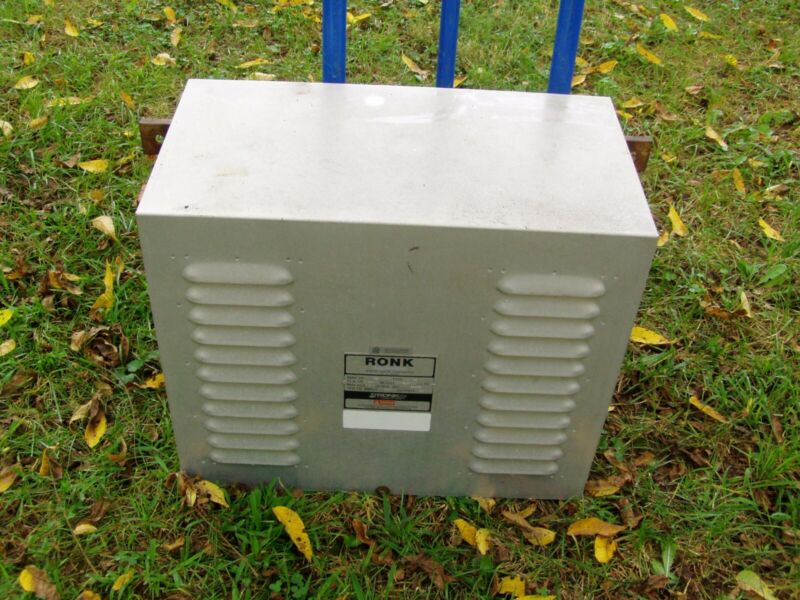 Ronk 240V volt 7.5HP HP ADD-A-PHASE Static Phase Converter Model 80A Type 2S