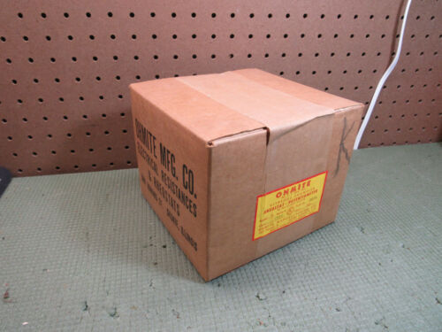 NOS Ohmite 0670 Model N Ser A Vitreous Rheostat Potentiometer 300 Watt 1750 OHM