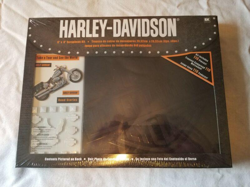 Harley Davidson 8×8 Scrapbook Kit