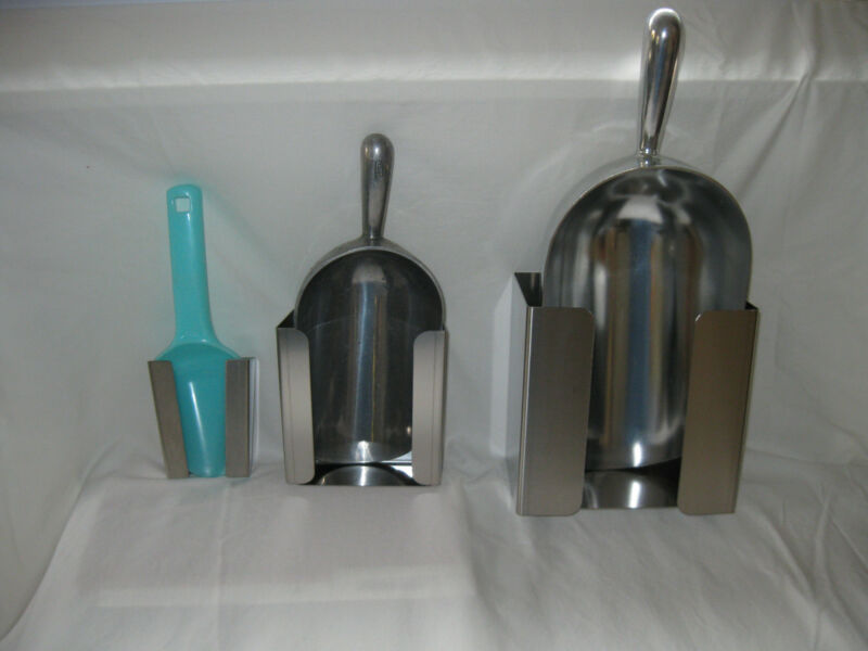 Ice Scoop Holder Stainless Steel, small only