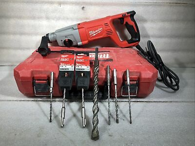 Milwaukee 5262-21 1 Inch Sds Plus Rotary Hammer Drill With Extras