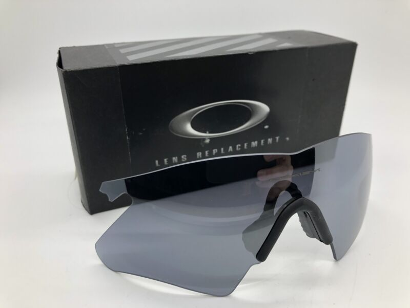 NEW IN BOX Oakley M-Frame Heater BLACK Iridium Replacement Lens AUTHENTIC