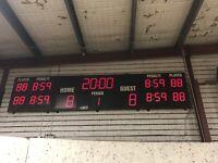 Score clock