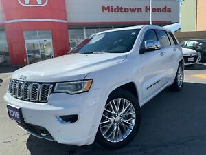2018 Jeep Grand Cherokee Overland-super clean-like new!!