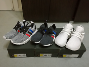 Adidas NMD R1 PK (tri colour pack) and XR1 PK white Sydney City Inner Sydney Preview
