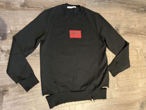 GIVENCHY Paris Herren Pullover !NEU! Gr L Schwarz NP 730€