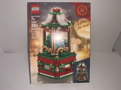 7 day XMAS SALE LEGO 40293 LIMITED EDITION 2018 CHRISTMAS CAROUSEL