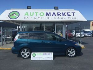 2006 Mazda Mazda5 GT SUNROOF, WARRANTY!