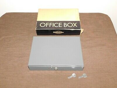 Vintage Steelmaster Metal Office Cash Box With Money Tray No. F10 New In Box
