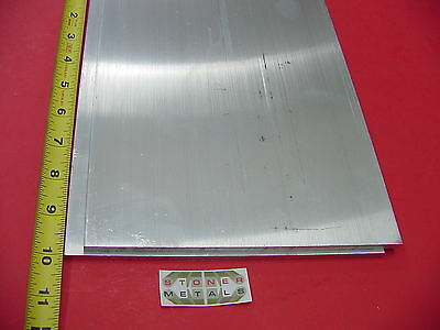 "1//2/"" X 6/"" ALUMINUM 6061 FLAT BAR 7-1//4/"" long .500/"" Solid T6511 Plate Mill Stock"