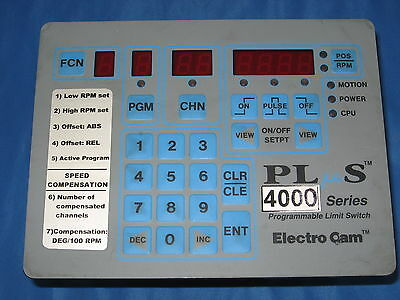Electro Cam Programmable Limit Switch 4000 Series Ps-4011-10-p16