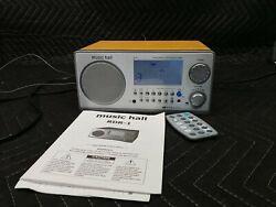 Music Hall RDR-1 w/ remote Best, Premium, High Quality, audiophile, clock radio