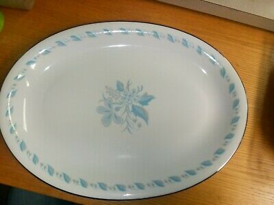 Abalone China Porcelain Serving Platter Sky Flower 459 Japan (Abalone China)