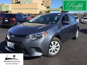 2014 Toyota Corolla CE-Excellent maintenance records