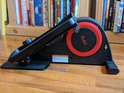 Cubii Pro Under Desk Elliptical - Black/Red - Brand New