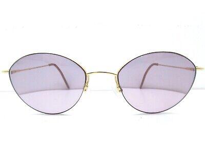 Silhouette 6315 30 6058 Round Semi-Rim Eyeglasses Eyewear FRAMES 50-19-135 (Semi Round Eyeglass Frames)